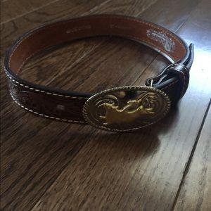 Nocona Belt Co Genuine Leather Belt